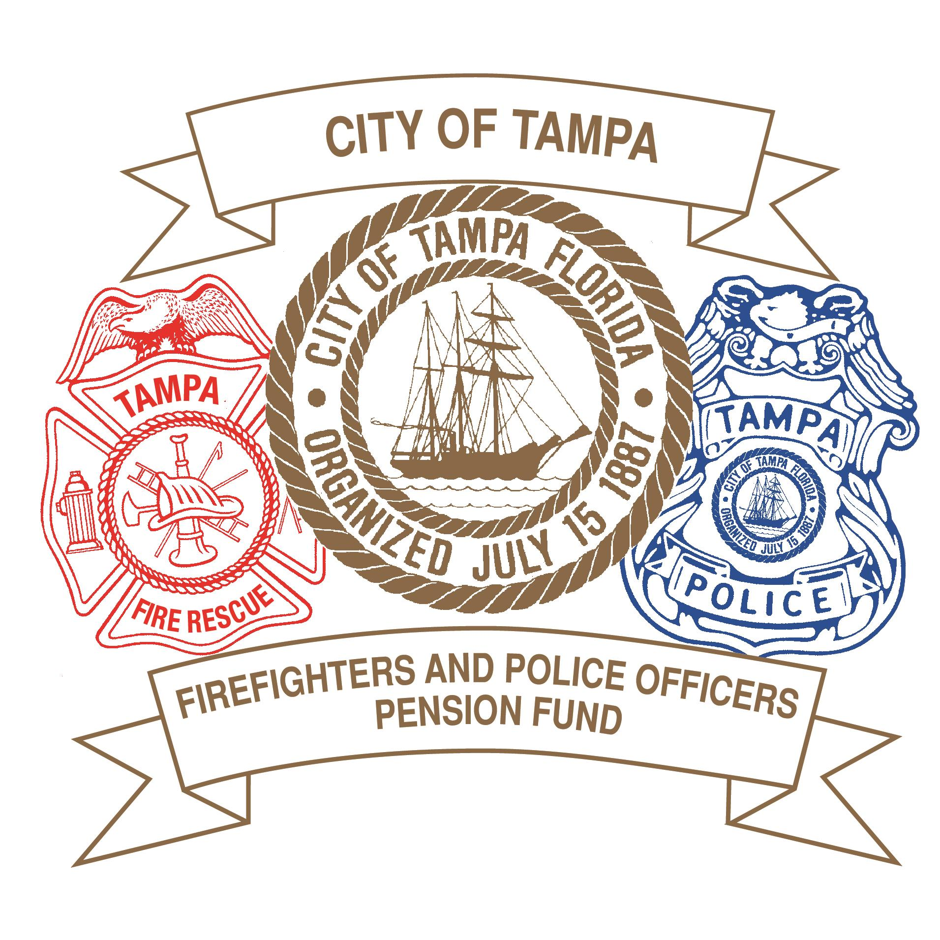 Tampa Fire and Police Pension Fund + Logo