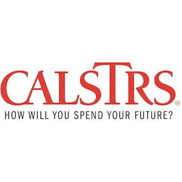 California State Teachers Retirement System + Logo