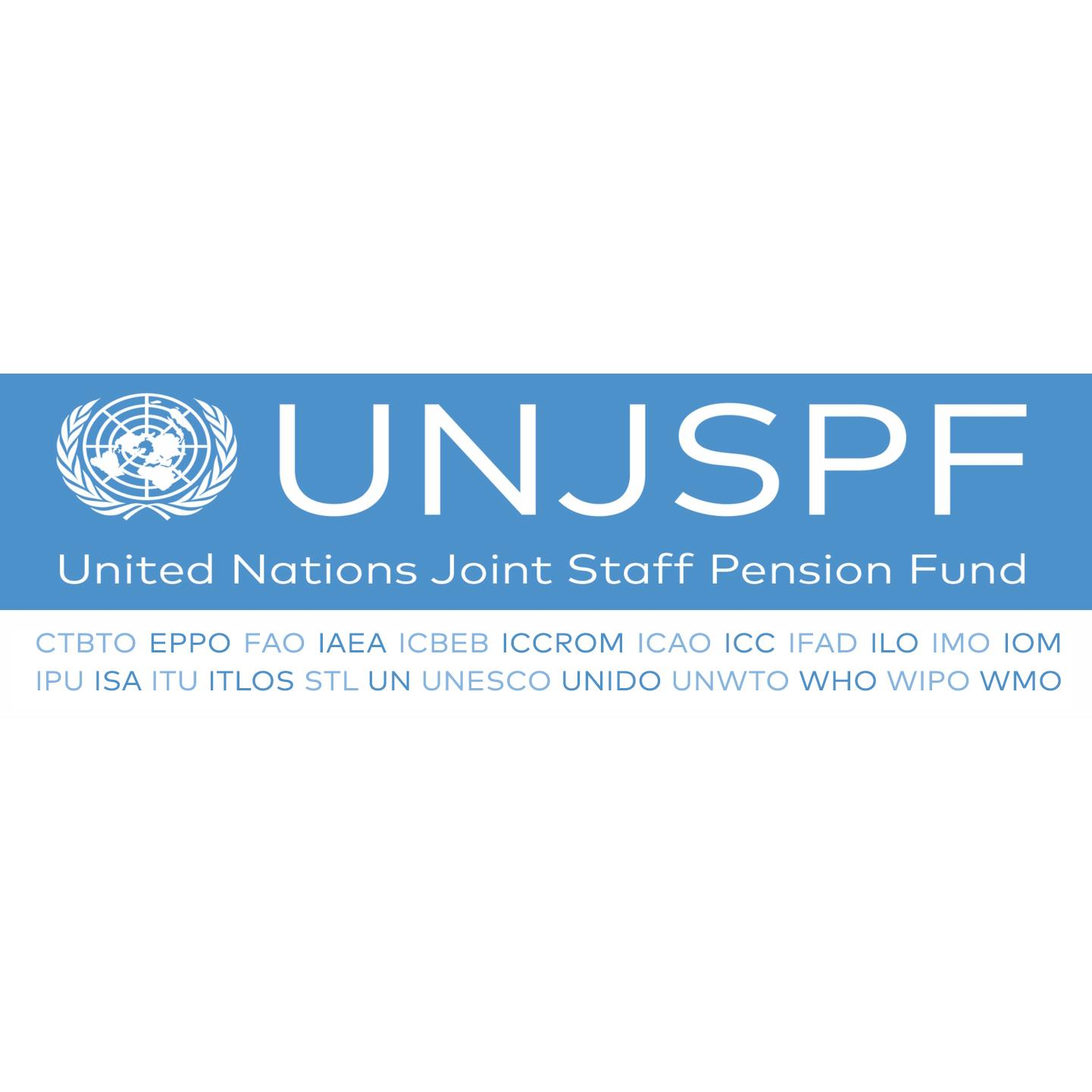 United Nations Joint Staff Pension Fund + Logo