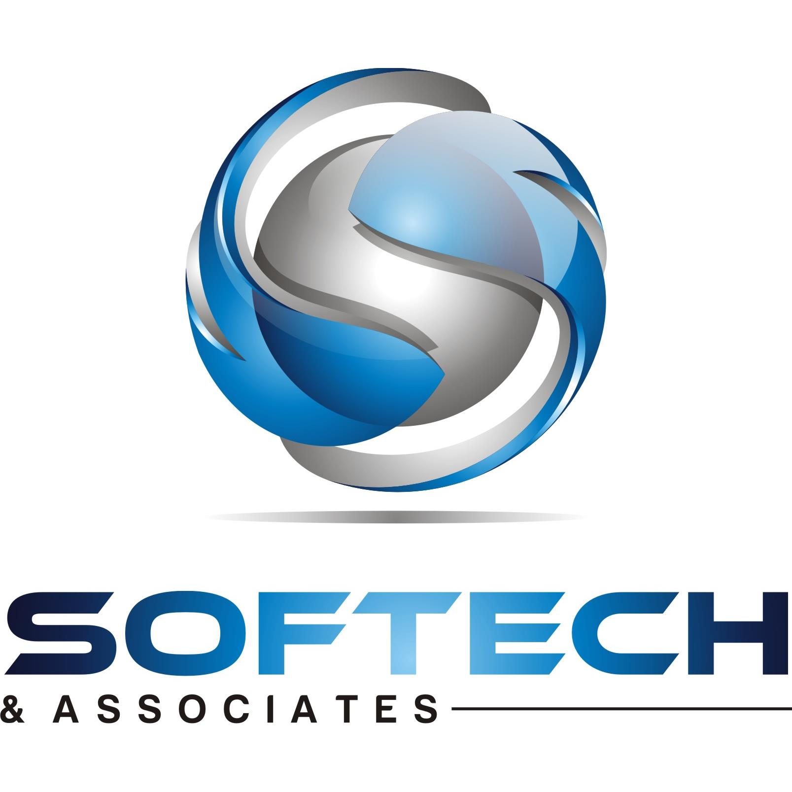 Softech & Associates, Inc + Logo